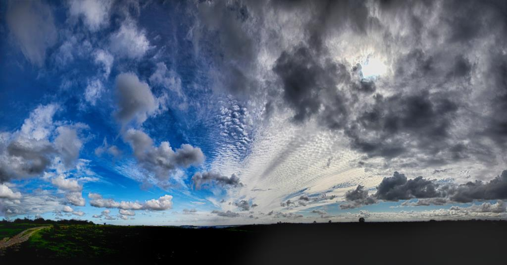 Hampshire photographer Henry Szwinto prefers clouds rather than a clear blue sky