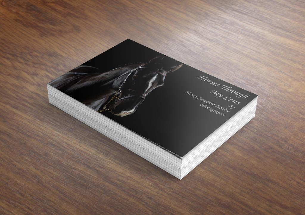 Equine Horse Photography Art Book